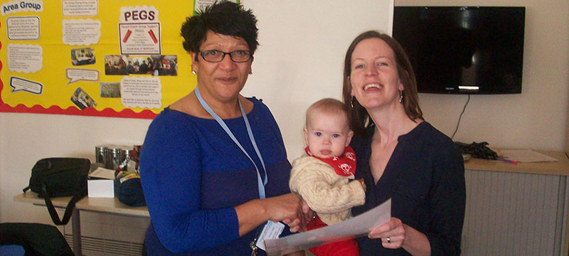 Breastfeeding northumberland award